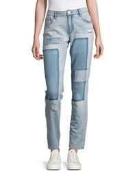 Lord & Taylor - Five-pocket Cotton Jeans - Lyst
