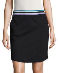 Bench - Stripe-accented Sweatskirt - Lyst