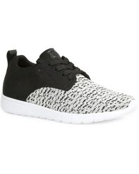 Gbx - Arco Flexstretch Knitted Lace-up Sneakers - Lyst