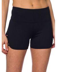 Betsey Johnson - Criss-cross Cutout Shorts - Lyst
