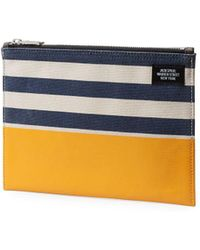Jack Spade - Striped Cotton Cord Pouch - Lyst