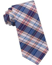 Ted Baker - Plaid Patterned Tie - Lyst
