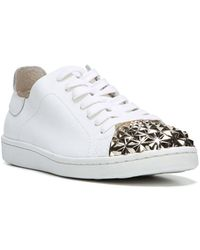 Fergie - Pyper Leather Lace-up Sneakers - Lyst