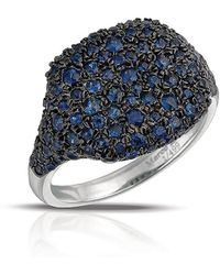 Marco Moore - Sapphire And 14k White Gold Cocktail Ring - Lyst