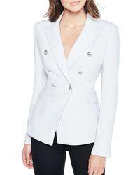 Bardot - Peak Lapel Tailored Blazer - Lyst