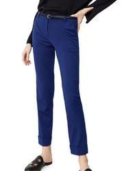 Mango - Cuffed Suit Trousers - Lyst
