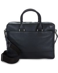 Jack Spade - Zip Leather Overnight Briefcase - Lyst