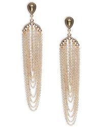 Lord & Taylor - Elegant Antique Drop Earrings - Lyst