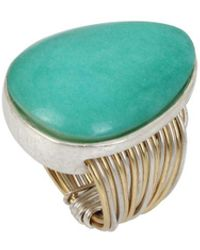 Robert Lee Morris - The Nest Two-tone Wire Wrap Ring - Lyst