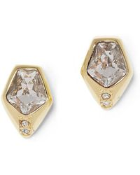 Vince Camuto - Octagon Stud Earrings - Lyst
