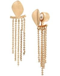 Kenneth Cole - Dangling Chains Drop Earrings - Lyst