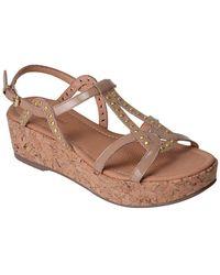 Corso Como - Sandi Patent Leather Sandals - Lyst