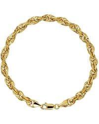 Lord & Taylor - 14k Yellow Gold Twist Bracelet - Lyst