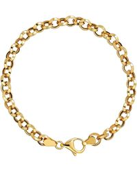 Lord & Taylor - 14k Yellow Gold Rolo Bracelet - Lyst