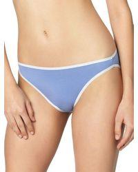 Felina Sublime High Cut Brief Panty - Blue