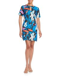 West 22 - Printed Shift Dress - Lyst