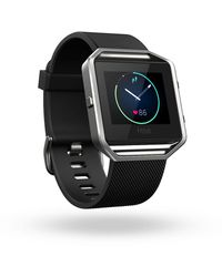 Fitbit Blaze Smart Fitness Watch, Black - Metallic