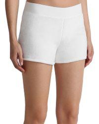 UGG - Ribbed Shorts - Lyst