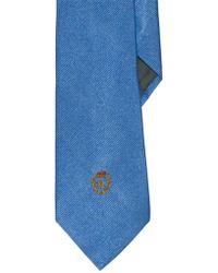 Lauren by Ralph Lauren - Signature Crest Silk Tie - Lyst