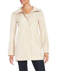Ellen Tracy - Packable Raincoat - Lyst