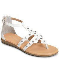 Aerosoles - Social Chlub Studded Gladiator Sandals - Lyst