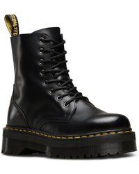 Dr. Martens Women's Fusion Jadon Leather Boots - Black
