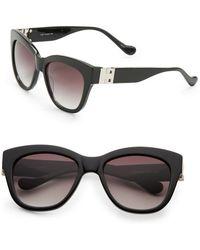 Ivanka Trump - 53mm Square Sunglasses - Lyst