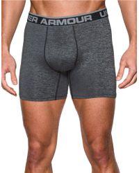 Under Armour Original Series Heatgear Twist Boxerjocks - Gray