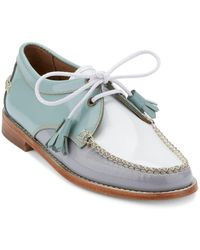 G.H. Bass & Co. - Winnie Patent Leather Oxfords - Lyst