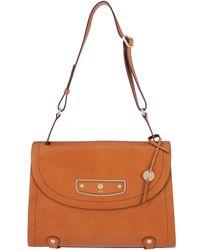 Lodis - Pismo Pearl Parisa Leather Flap Briefcase - Lyst