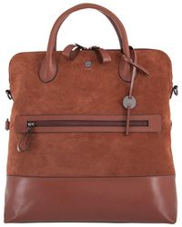 Lodis - Wiltern Rfid Nia Convertible Suede & Leather Tote Backpack - Lyst