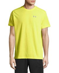 Under Armour - Fitted Athletic Tee - Lyst
