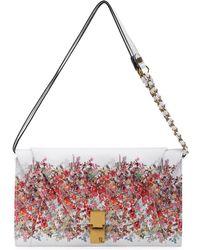 Elliott Lucca - Cordoba Floral Textured Shoulder Bag - Lyst
