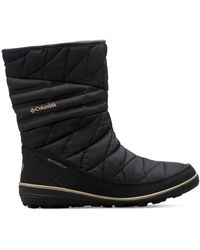 Columbia Faux Fur Lined Boots - Black