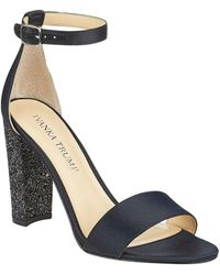 Ivanka Trump - Emalyn 4 Satin Ankle Strap Sandals - Lyst