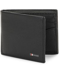 Tommy Hilfiger Multicard Leather Passcase - Black