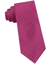 Ted Baker Micro Neat Silk Tie - Pink