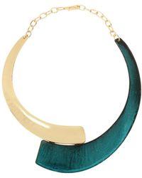 Robert Lee Morris - Raising Arizona Two-tone Collar Statement Necklace - Lyst