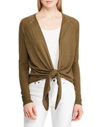 Lauren by Ralph Lauren Linen-blend Sweater