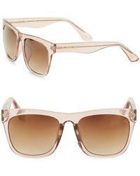 Sam Edelman - 50mm Square Sunglasses - Lyst
