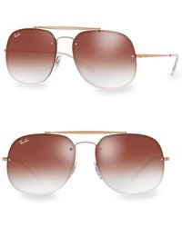 Ray-Ban - 58mm Colored General Blaze Aviators - Lyst