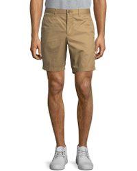 Original Penguin - Cotton Flat Front Shorts - Lyst