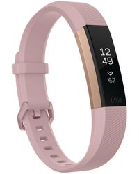 Fitbit - Alta Hr Gunmetal Series Fitness Wristband Smartwatch - Lyst