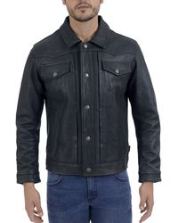 Frye Trucker Ii Jacket - Black