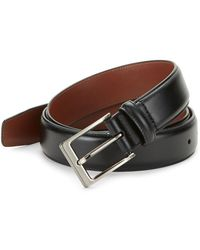Perry Ellis - Classic Leather Belt - Lyst