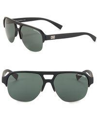 8d5b06b1377 Lyst - Armani Exchange Wayfarer Sunglasses in Black for Men