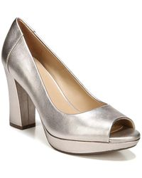 Naturalizer - Amie Leather Court Shoes - Lyst