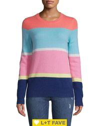 Lord + Taylor Colorblock Cashmere Jumper - Multicolour