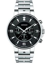 Movado - S.e. Pilot Chronograph Watch - Lyst
