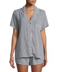 Splendid - Notch Collar Sleepshirt - Lyst